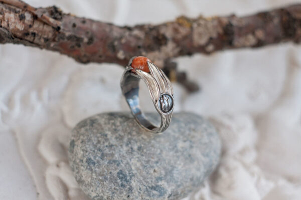 Кольцо в стиле арт-деко