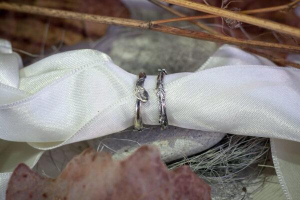 Лесные серебряные кольца