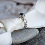 Мужское серебряное кольцо с рунами