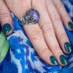Серебряное кольцо с тотемными совами