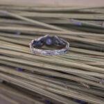 Кольцо из серебра с танзанитом