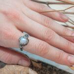 Дизайнерское кольцо для девушки