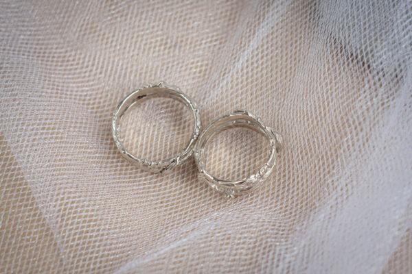 """Обручальные кольца веточки из золота или серебра """"Нюлесмурт"""""""