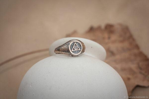 Масонское золотое кольцо