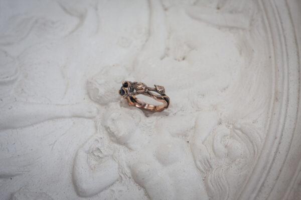 Роскошное помолвочное кольцо