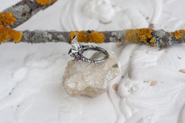Винтажное серебряное кольцо