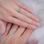 Свадебные кольца из белого золота