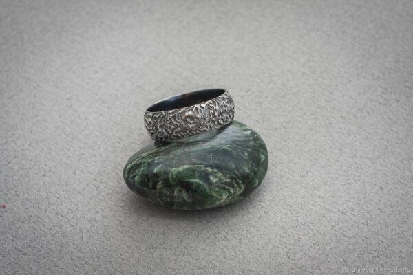 """Мужское серебряное кольцо """"Африка"""""""
