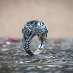 Необычное мужское кольцо