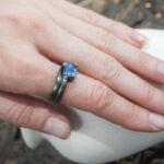 Повседневное серебряное кольцо