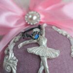 Помолвочное кольцо с лунным камнем