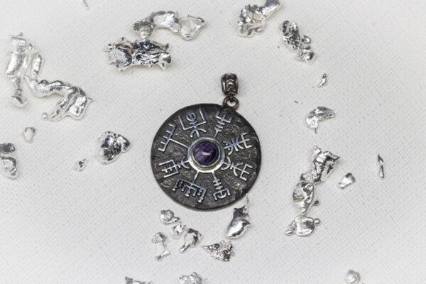 Scandinavian mens pendant