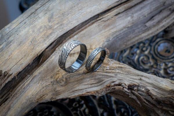 авторские свадебные кольца