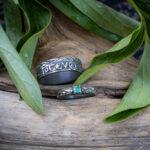 парные помолвочные кольца