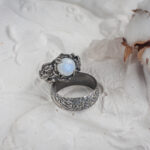Широкие серебряные обручальные кольца