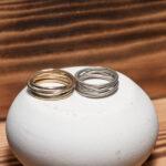 Повседневные стильные кольца