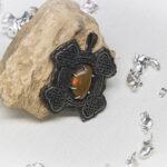Серебряный кулон с кельтским узором
