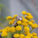 Лесное кольцо из серебра