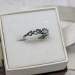 Оригинальное кольцо для помолвки