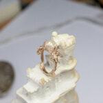 Роскошное кольцо с жемчугом