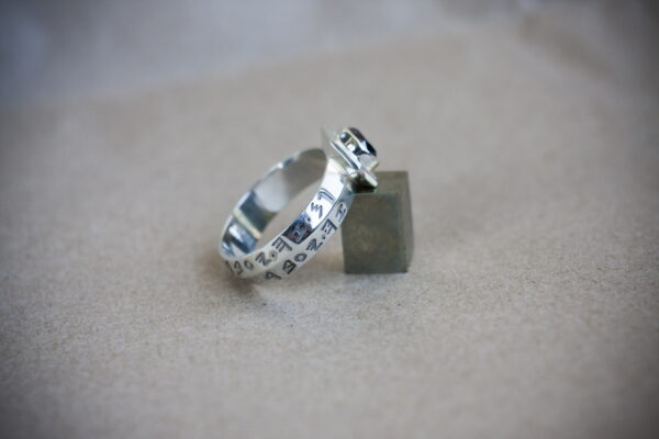 Мужское кольцо с рунами