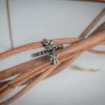 Эльфийское кольцо с бриллиантами