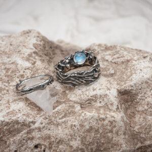 Эльфийские свадебные кольца