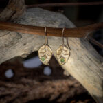 Золотые серьги-петли