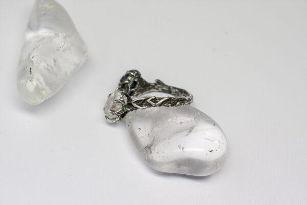 Фактурное кольцо из серебра