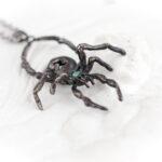 Серебряная подвеска в виде паука