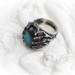 Серебряное кольцо Чужой