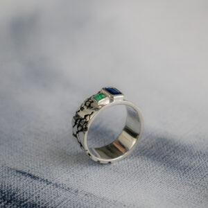 Стильное мужское кольцо
