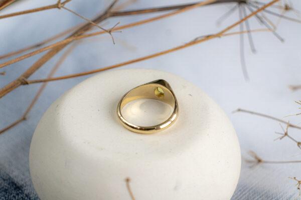 Удобное золотое кольцо