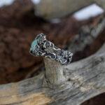 Мужское кольцо в эльфийском стиле