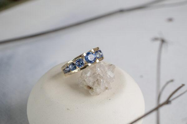 Кольцо в старорусском стиле