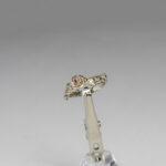 Помолвочное кольцо с рубином