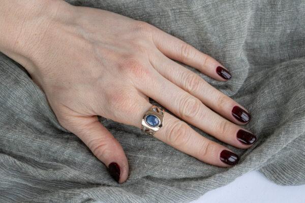 Золотое кольцо унисекс