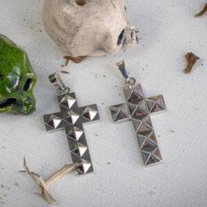 Серебряные кулоны-кресты