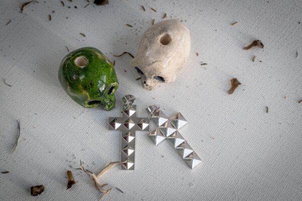 Неформальные украшения из серебра