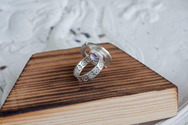 Космическое серебряное кольцо
