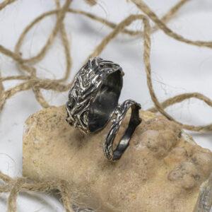 Парные серебряные кольца