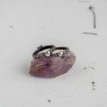 Серебряные кольца с сердцами