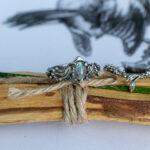 Лесные кольца из серебра