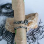 Фактурные серебряные кольца