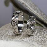 Обручальные кельтские кольца