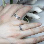 Обручальные кольца в кельтском стиле