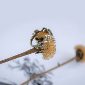 Нежное золотое кольцо