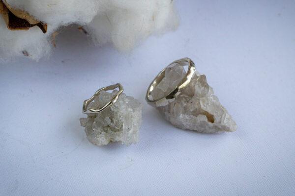 Минималистичные обручальные кольца
