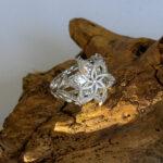 Кольцо Галадриэли из серебра