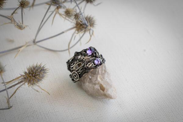 Обручальные кольца с кельтским узором